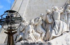 kuli ziemskiej henry Lisboa zabytku nawigator fotografia stock