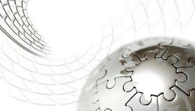 kuli ziemskiej klawiatura Fotografia Stock