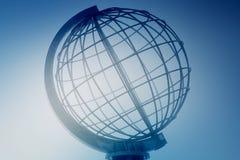 kuli ziemskiej spirala Obrazy Royalty Free