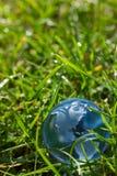 kuli ziemskiej szklana trawa Obraz Stock
