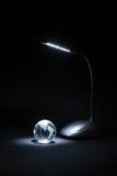 kuli ziemskiej szklista lampa Fotografia Stock