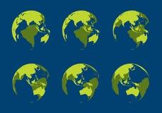 kuli ziemskiej wydrążenie Ilustracja Wektor