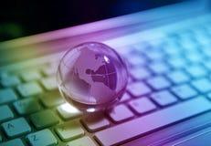 kuli ziemskiej ziemska technologia Fotografia Stock