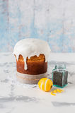 Kulich, Russian Easter Bread Royalty Free Stock Image