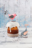 Kulich, Russian Easter Bread Stock Photos