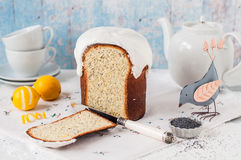 Kulich, Russian Easter Bread Royalty Free Stock Photo