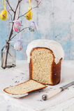 Kulich, Russian Easter Bread Royalty Free Stock Images