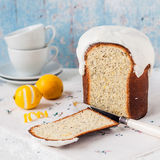 Kulich, Russian Easter Bread Stock Image