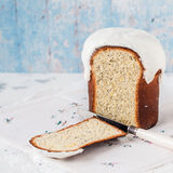 Kulich, Russian Easter Bread Royalty Free Stock Photography
