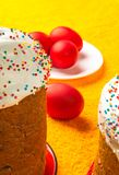Russian Easter cake Stock Image