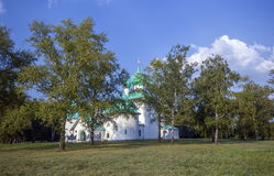 Kulikovo Field, Memorial Church of St. Sergius of Radonezh. Royalty Free Stock Photos