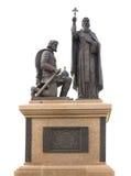 Kulikovo field, Russia - July 24, 2016: monument to St. Sergius Stock Photography