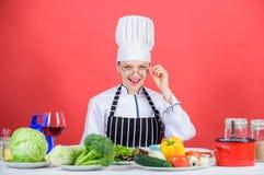 Kulinarische Ausbildung Kulinarischer Experte E i lizenzfreies stockfoto