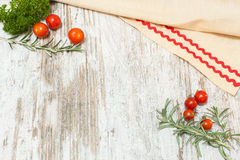 Kulinarischer Nahrungsmittelhintergrund Lizenzfreie Stockfotografie