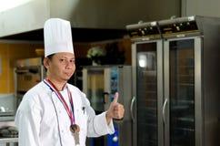 Kulinarisk kock Royaltyfri Bild