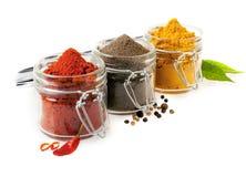 Kulinariska kryddor Arkivfoton
