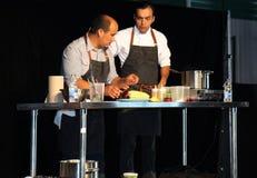Kulinarna demonstracja Zdjęcia Stock