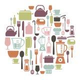 Kulinarna karta Zdjęcie Stock