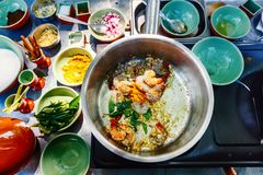 Kulinarna klasa zdjęcia royalty free