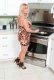 kulinarna kobieta zdjęcia stock