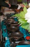 Kulinarna linia Zdjęcie Royalty Free