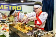 Kulinarna orientalna kuchnia Fotografia Royalty Free