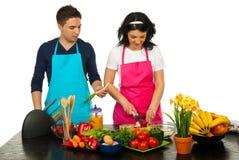 kulinarna para Fotografia Royalty Free