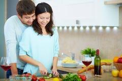 Kulinarna sałatka fotografia stock