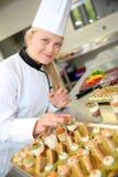Kulinarna szkoła Zdjęcie Royalty Free