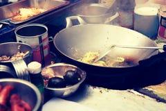 Kulinarna tajlandzka kuchnia Obraz Royalty Free