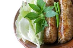 Kulinarne kiełbasy Obrazy Stock