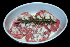 kulinarnego mięsa przygotowany surowy zdjęcie stock