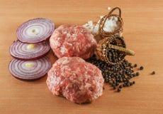 Kulinarni Cutlets Zdjęcie Stock