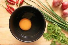 Kulinarni jajka Zdjęcia Stock