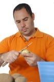 kulinarni mężczyzna Zdjęcie Stock