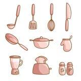 Kulinarni naczynia Obrazy Royalty Free