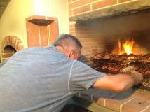 Kulinarni różni typ mięso na grillu carpaccio kuchni doskonale stylu życia, jedzenie luksus włoski zdjęcia stock