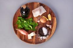 kulinarni rybi składniki obrazy royalty free
