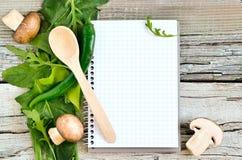 Kulinarny bacground zdjęcia stock