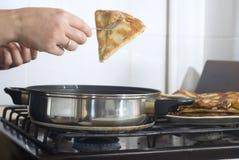 kulinarny blin Obrazy Royalty Free
