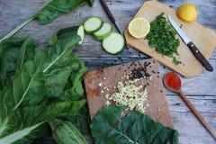 Kulinarny czas zdjęcie royalty free