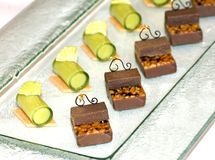 kulinarny czekoladowy Kuala Lumpur Malaysia mus Fotografia Stock