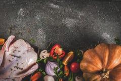 Kulinarny gość restauracji dla bożych narodzeń, dziękczynienie obrazy stock