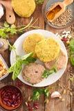 Kulinarny jarski stek obrazy royalty free