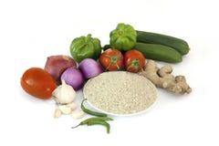Kulinarny Jarzynowy Rice Zdjęcia Stock