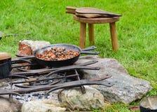 Kulinarny jedzenie, średniowieczny styl życia zdjęcia stock