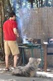 kulinarny mężczyzna Obraz Royalty Free