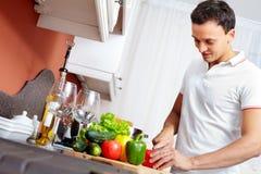 kulinarny mężczyzna Zdjęcie Stock