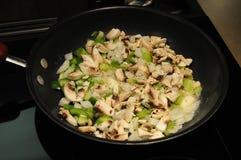 Kulinarny omlet Fotografia Stock