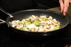 Kulinarny omlet Zdjęcie Stock